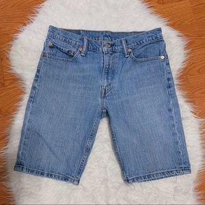 Levi's 511 Medium Wash Bermuda Shorts